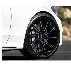 Black 20 Inch staggered rims nissan ,kia,ford,Honda, chevy,bmw,Mercedes for Sale in Los Angeles, CA