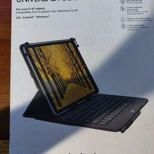 Logitech Universal Tablet Keyboard Case for Sale in Phoenix, AZ