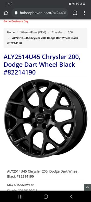 Crystler rims for trade 20s for Sale in Whittier, CA