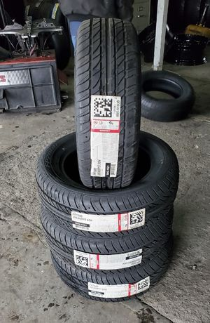 205/60/15 new tires for $300 with balance and installation we also finance {contact info removed} ask for Ashley 7637 airline dr houston TX 77037 for Sale in Houston, TX