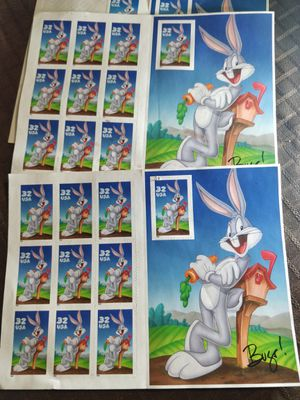 Bugs Bunny Collector Stamps for Sale in Tampa, FL