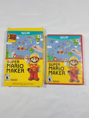 Super Mario Maker (Nintendo Wii U, 2015) Video Game for Sale in Winter Springs, FL