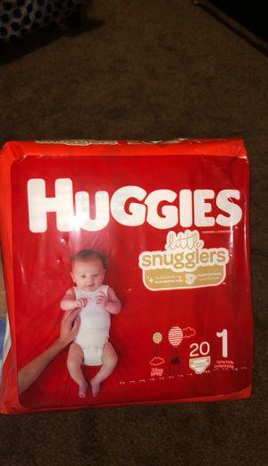 5 packs of Huggies for Sale in Everett, WA