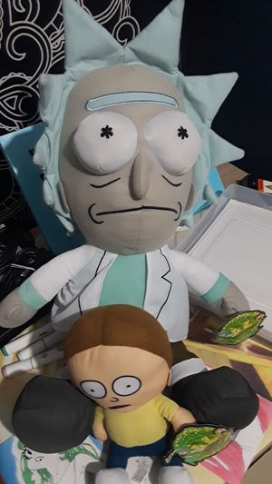 Rick and Morty plushies for Sale in Irving, TX