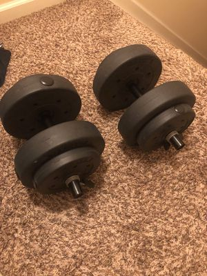 Gold Gyms 40 Pound Weight Set for Sale in Hilliard, OH