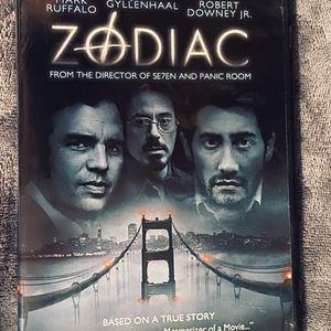 ZODIAC DVD MOVIE for Sale in Mansfield, TX