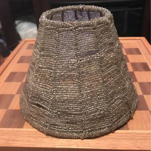 Vintage Small Bead Lamp Shade for Sale in Chevy Chase View, MD