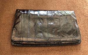 Vintage EEL SKIN Clutch Purse for Sale in Alexandria, VA