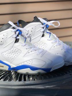 "Air Jordan Retro 6 ""Sport Blue"" for Sale in Marietta,  GA"
