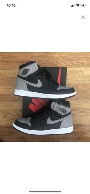 """Jordan 1 """"Shadow"""" size 9 in good condition 9.5 for Sale in Tampa, FL"""