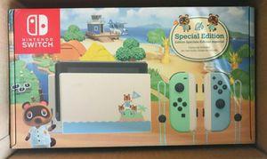 Brand New Nintendo Switch Animal Crossing Bundle for Sale in Windsor Hills, CA