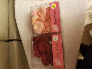 Two small boxes of rose petals for Sale in West Laurel, MD