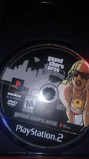 Grand theft Auto San Andreas PS2 for Sale in Englewood, CO