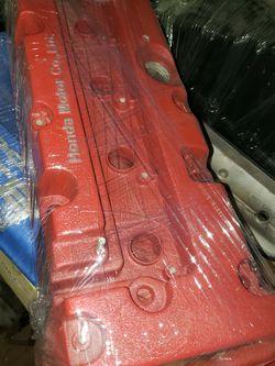 K20 K24 Honda Acura Valve Cover Wrinkle Red for Sale in Providence,  RI