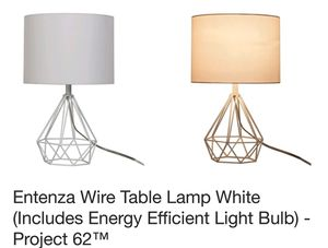 Project 62 Entenza wire table lamps for Sale in Jamestown, NC