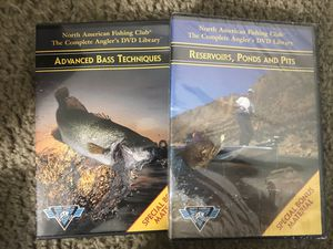 Bass Fishing Techniques & Reservoirs, Ponds & Pits DVD's for Sale in Beaverdam, VA