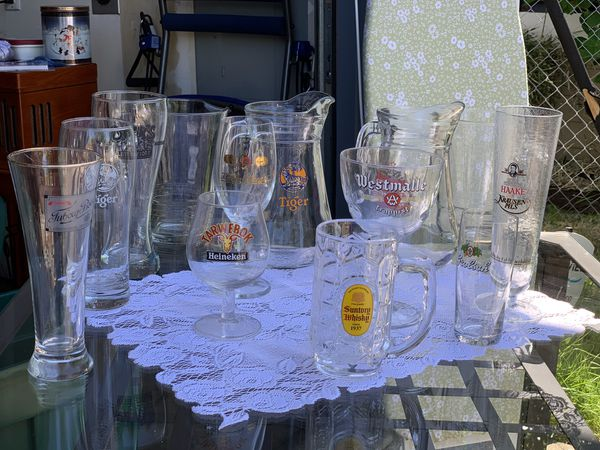 International Beer Glass Collection