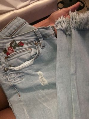 Embroidered Jeans for Sale in Garland, TX