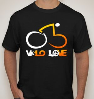 VELO LOVE T-shirt promoting cycling safety for Sale in Austin, TX