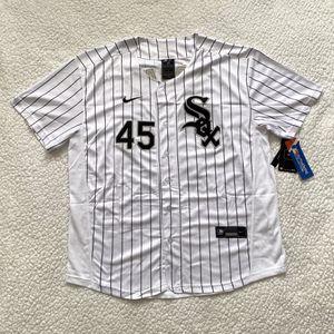 Michael Jordan #45 - Chicago White Sox MLB Jersey - Brand New Men's Retro Vintage White Baseball Jersey - Size M and L for Sale in Mundelein, IL