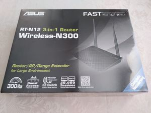 New ASUS RT-N12 Wireless-N300 Router for Sale in Columbus, OH