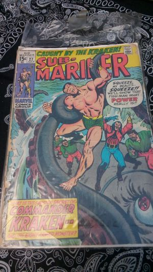 Marvel Comics Sub-Mariner Vol 1, issue #27 (First Appearance Commander Kraken) for Sale in Anaheim, CA