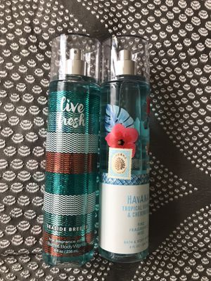 Bath and body works fragrance mist for Sale in Westminster, CA