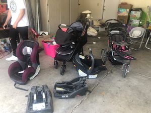 Baby stuff strollers car seats rockers everything must go for Sale in Gilbert, AZ
