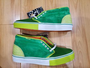 Brand New Mens Van's Chukka Boot LX size 10.5 Kicks Hawaii Lime Green for Sale in El Monte, CA