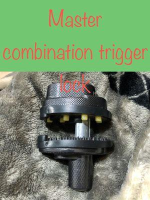 Master Combination Trigger Lock for Sale in Pomona, CA
