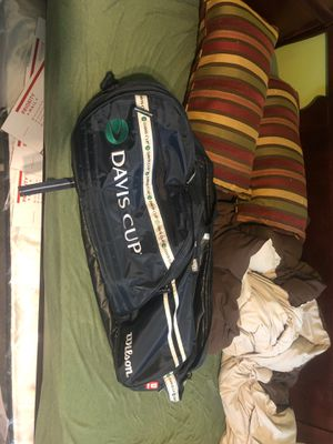 Wilson tennis bag and backpack Davis cup for Sale in FL, US