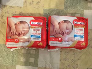 Huggies newborn diapers for Sale in Yonkers, NY