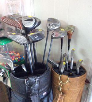 Golf clubs left handed for Sale in Bridgeport, CT
