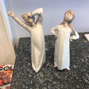 Lladro BoyAnd Girl Figurines for Sale in Roseland, NJ
