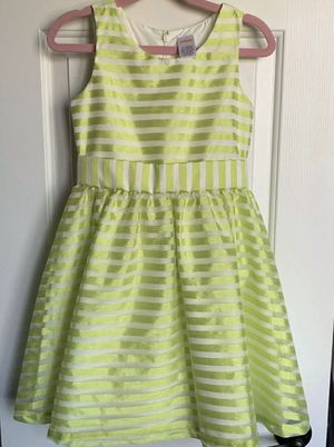 Girl's Gymboree Special Occasion Dress, Easter Garden Party (green) Girls Size 7 for Sale in Alexandria, VA