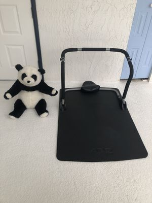 ABS healthrider for crunching and toning your stomach muscles and cute panda bear (excellent condition) for Sale in Spring Hill, FL