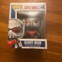 Giant-Man (Ant Man) Funko Pop 135 for Sale in Hasbrouck Heights,  NJ