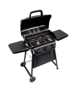 Char-Broil Barbecue Grill Classic Liquid Propane Freestanding 3 burners Black BBQ for Sale in San Diego, CA