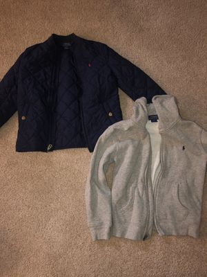 Ralph Lauren Jacket and Hoodie for Sale in Clinton Township, MI