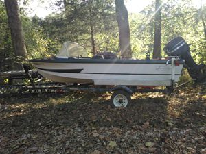 Boat with 75 horse motor for Sale in Nashville, TN