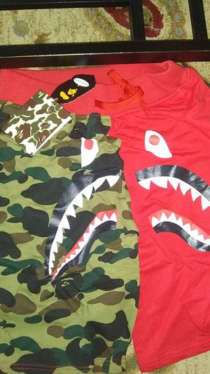 Brand new bape shorts their a size too small for Sale in Portland, OR