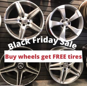 🔥🔥🔥Black Friday SALES! BUY Rims get FREE Tires🔥🔥🔥(only 50 down payment / no credit needed ) for Sale in South Brunswick Township, NJ