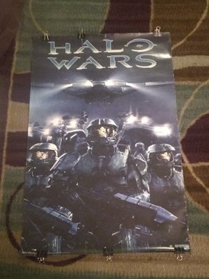 HALO WARS poster for Sale in Bakersfield, CA