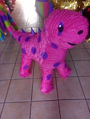 Pink dinosaur pinata for Sale in Phoenix, AZ