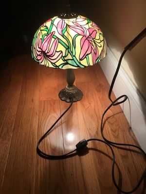 Tiffany like lamp floral pattern shade for Sale in Nashville, TN