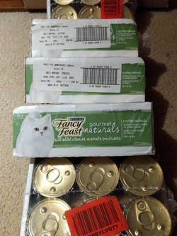 Free Fancy Feast Cat Food for Sale in San Francisco,  CA