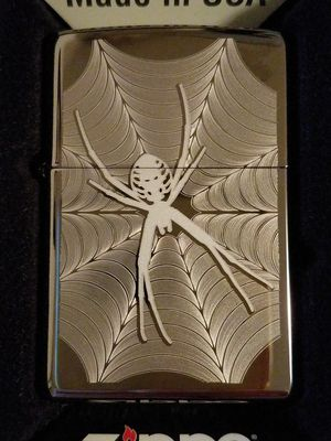 Zippo spider and web design 29733 for Sale in Los Angeles, CA