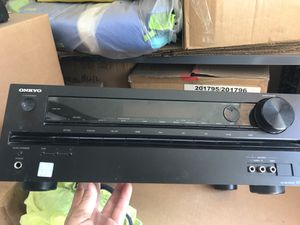 Onkyo reciever for Sale in El Monte, CA