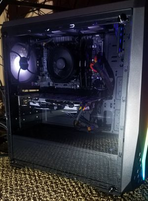 Gaming/streaming/editing PC ryzen 5 rx580 for Sale in Houston, TX