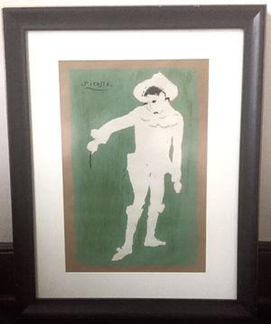 ORIGINAL Picasso Signed Lithograph Print, 1920s Antique for Sale for sale  Jersey City, NJ